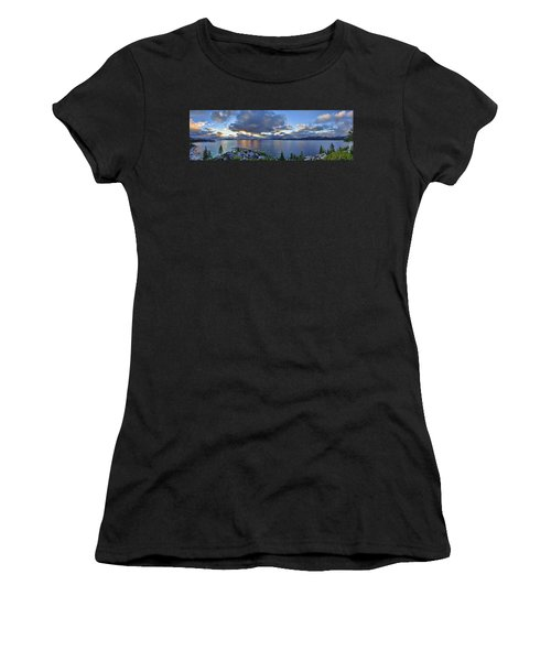 Tahoe Sunset Panorama Women's T-Shirt