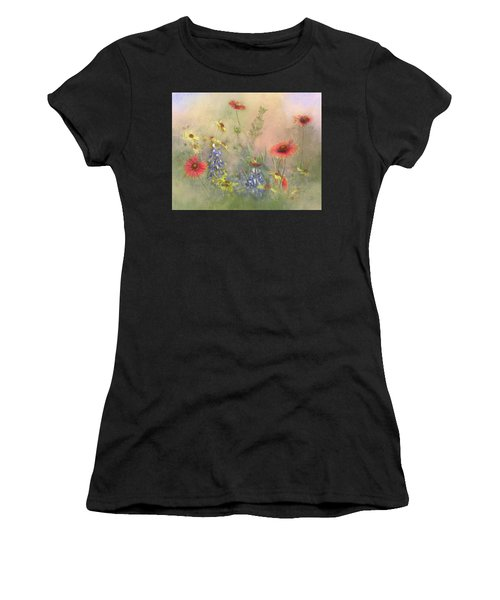 Texas Wildflowers Women's T-Shirt (Athletic Fit)