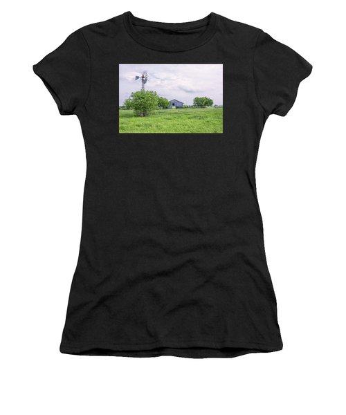 Texas Windmill Women's T-Shirt
