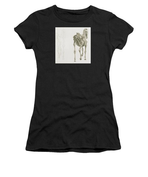 The Anatomy Of The Horse Women's T-Shirt
