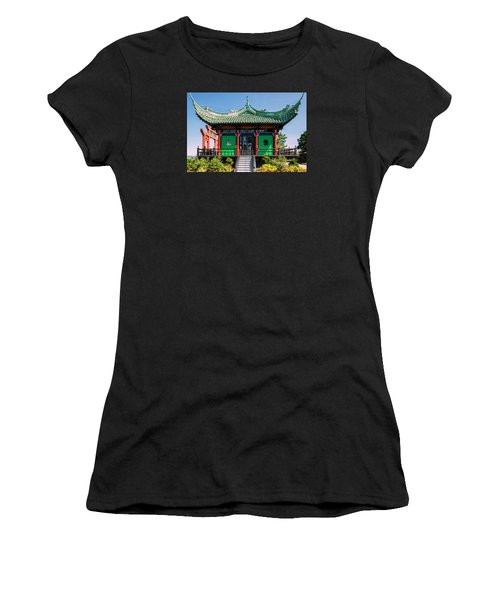 The Chinese Tea House Women's T-Shirt (Athletic Fit)