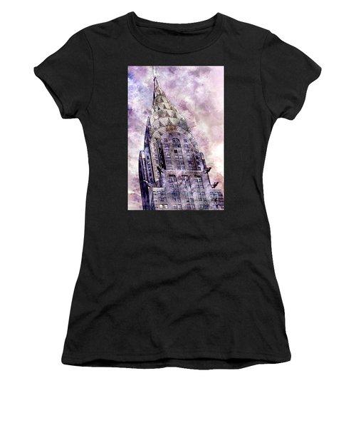 The Chrysler Building Women's T-Shirt
