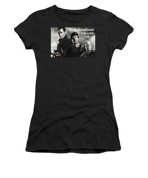 The Expendables 2 Women's T-Shirt (Athletic Fit)
