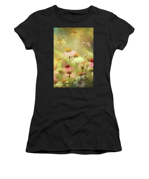 Thoughts Of Flowers Women's T-Shirt (Athletic Fit)