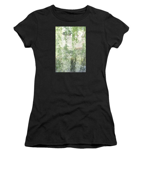 Through The Willows Women's T-Shirt (Athletic Fit)