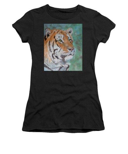 Tiger Portrait Women's T-Shirt