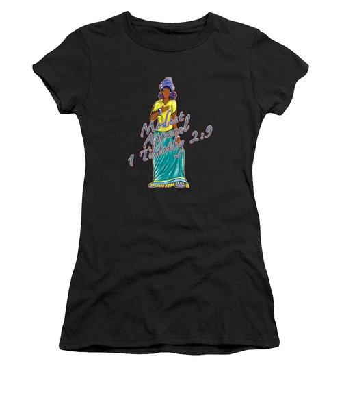 1 Timothy 2vs.9 Modest Apparel Women's T-Shirt