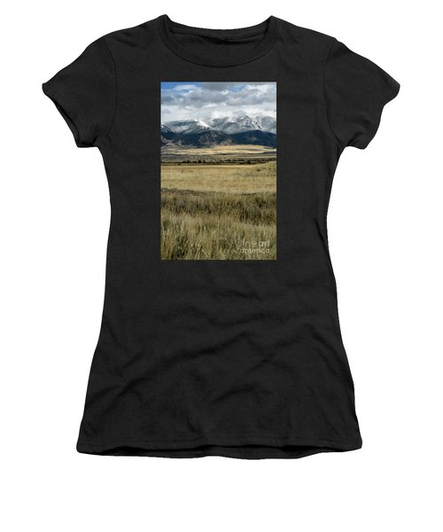 Tobacco Root Mountains Women's T-Shirt (Athletic Fit)