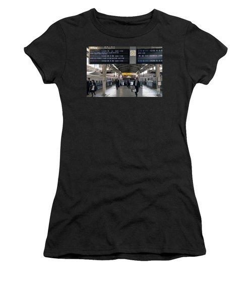 Tokyo To Kyoto, Bullet Train, Japan 3 Women's T-Shirt