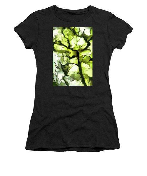 Towards The Sun Women's T-Shirt (Athletic Fit)