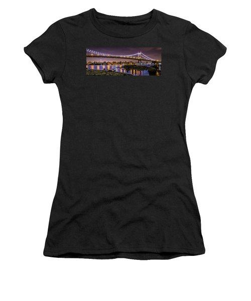 Triboro Bridge Women's T-Shirt (Athletic Fit)