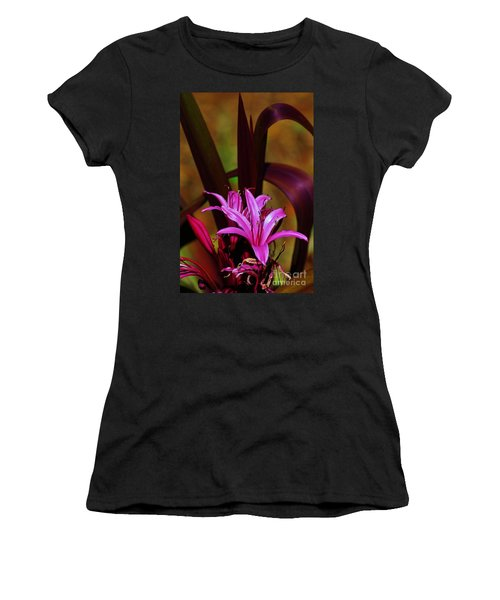 Women's T-Shirt (Junior Cut) featuring the photograph Tropical Lily by Craig Wood