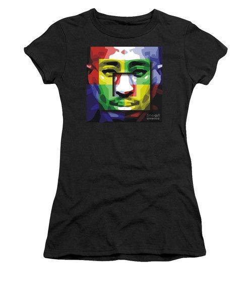 Tupac 4x Women's T-Shirt