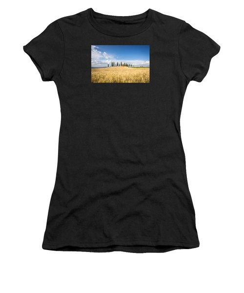 Tuscan Villa Women's T-Shirt (Athletic Fit)