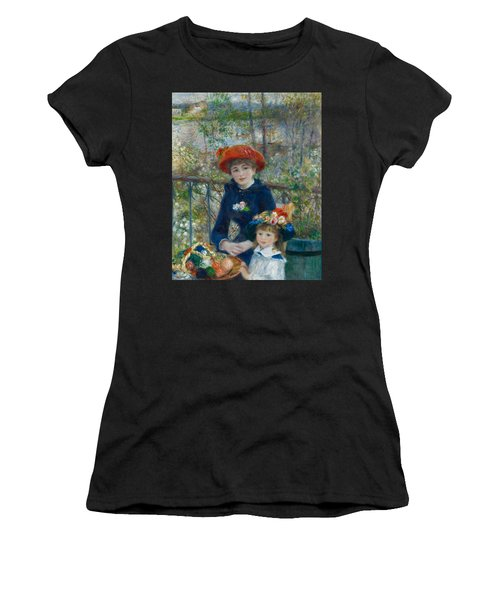 Two Sisters On The Terrace Women's T-Shirt