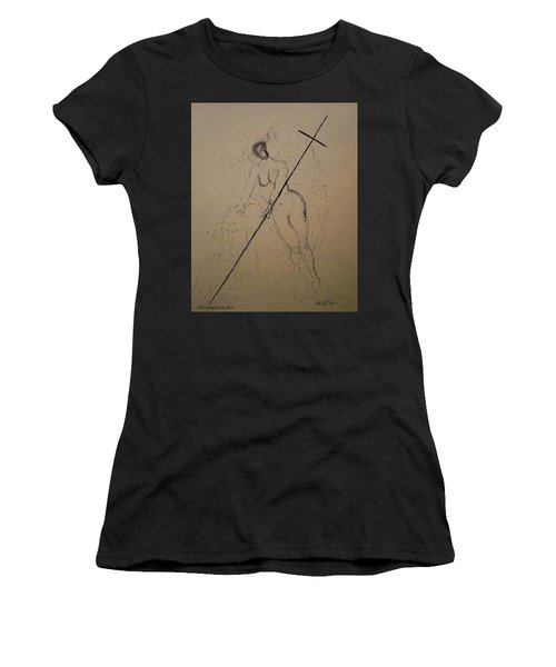 Unveiled Beauty Women's T-Shirt (Athletic Fit)
