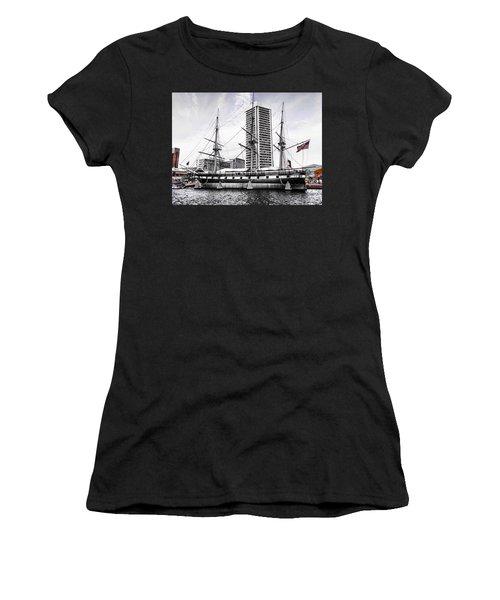 U.s.s. Constellation Women's T-Shirt