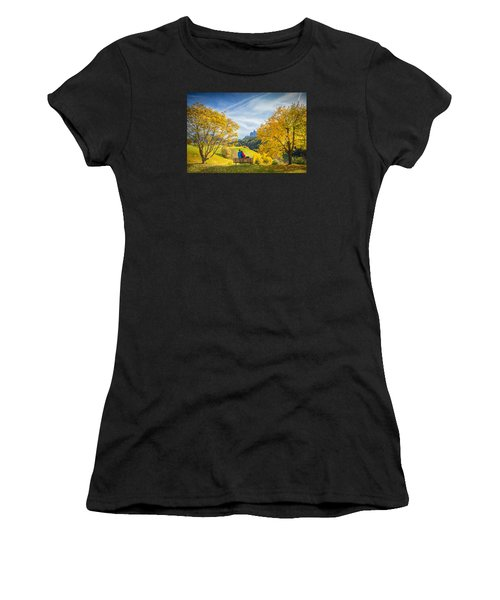 Val Di Funes, Italy Women's T-Shirt (Athletic Fit)
