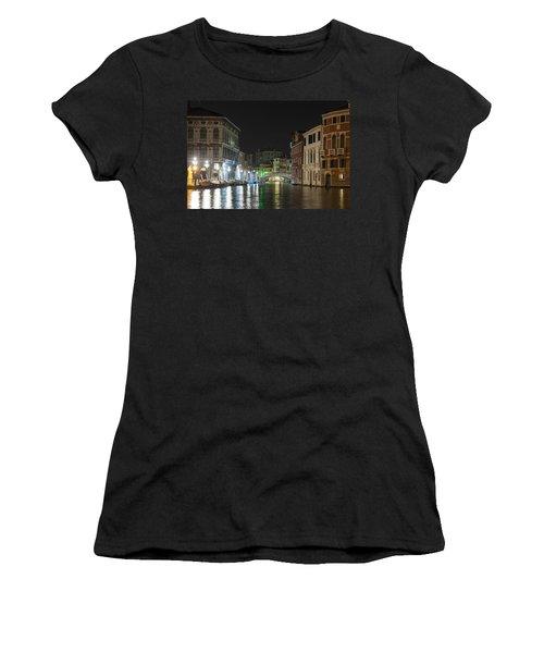 Romantic Venice  Women's T-Shirt (Junior Cut) by Silvia Bruno