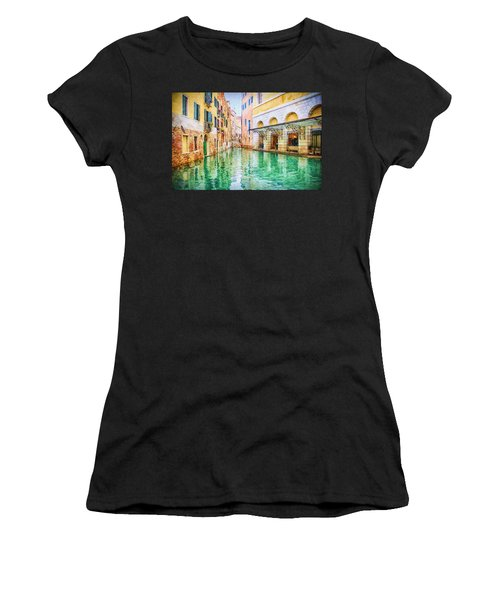 Venice Italy Women's T-Shirt (Athletic Fit)