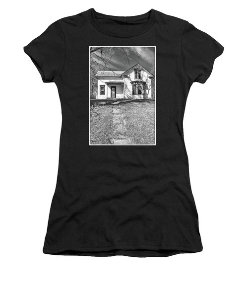 Visiting The Old Homestead Women's T-Shirt (Athletic Fit)