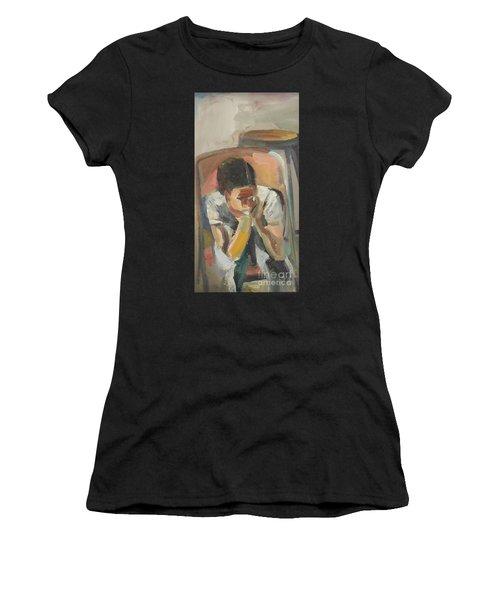Wait Child Women's T-Shirt (Athletic Fit)