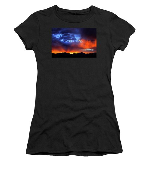 Wasatch Sunrise Women's T-Shirt (Athletic Fit)