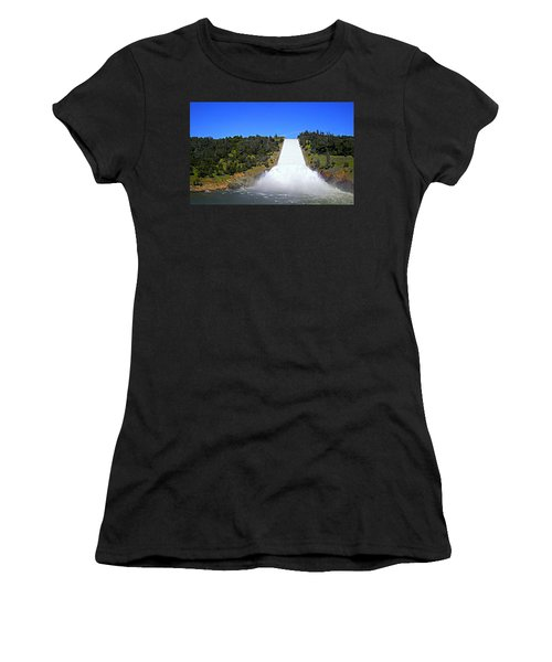 Women's T-Shirt (Athletic Fit) featuring the photograph Water by AJ Schibig