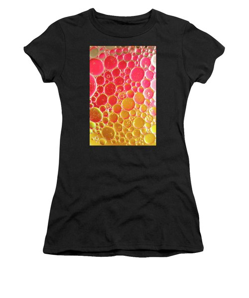 Water And Oil Bubbles Women's T-Shirt