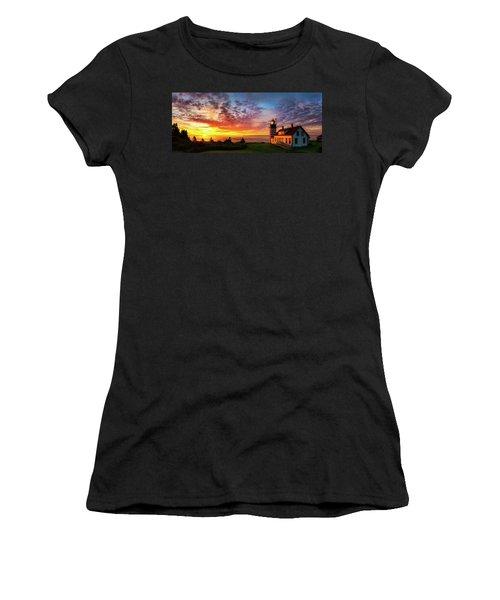 West Quoddy Head Light Women's T-Shirt