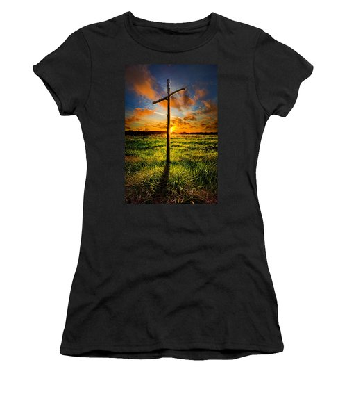 What Will Be Will Be Women's T-Shirt (Athletic Fit)