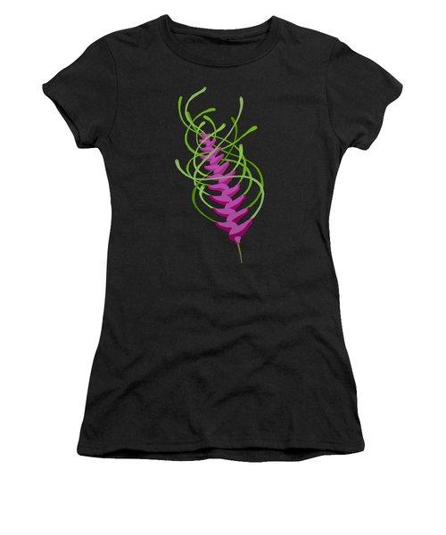 whEAT alien FUCsia I Women's T-Shirt (Athletic Fit)