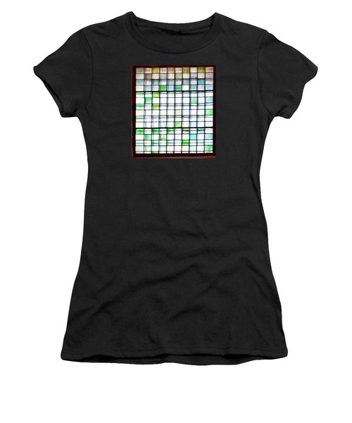 Stained Glass Window  Women's T-Shirt (Athletic Fit)