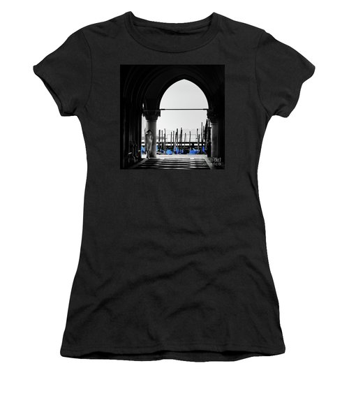 Woman At Doges Palace Women's T-Shirt