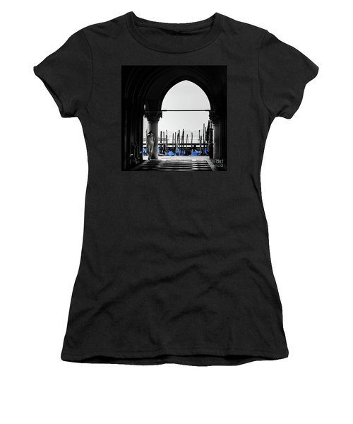 Woman At Doges Palace Women's T-Shirt