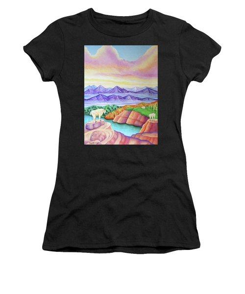 Wonderland Women's T-Shirt (Athletic Fit)