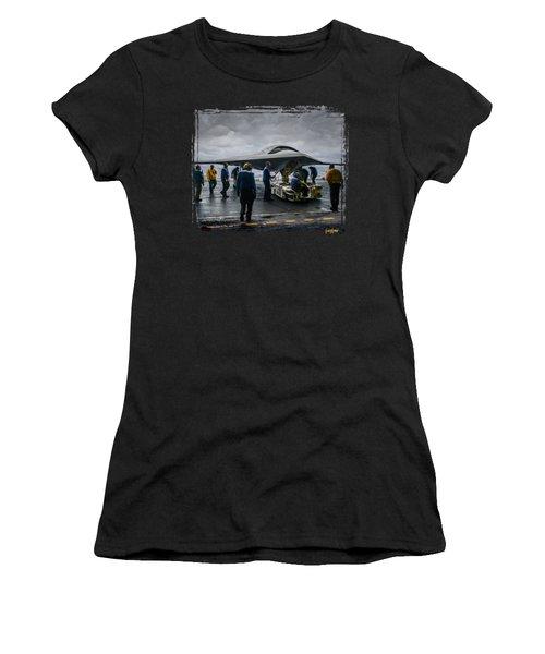 X-47b Uav Women's T-Shirt (Athletic Fit)