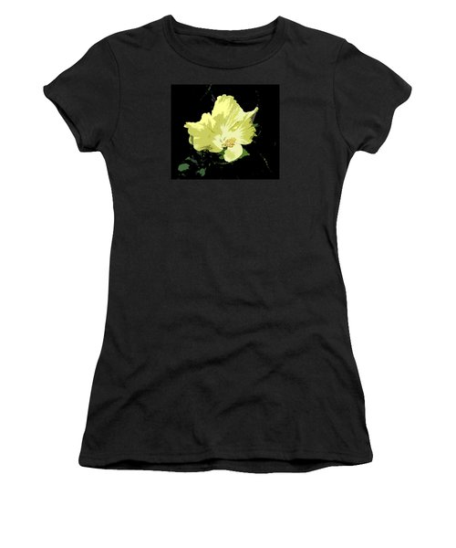 Yellow Beauty Women's T-Shirt (Athletic Fit)