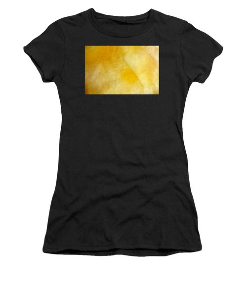 Yellow Women's T-Shirt (Athletic Fit)