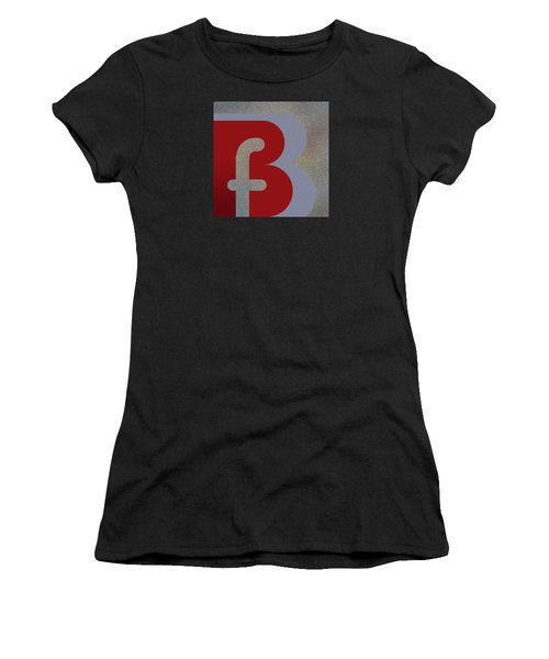 Your Name - B F Or F B Monogram Women's T-Shirt