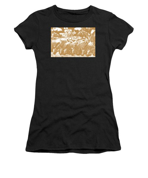 Zebra 3 Women's T-Shirt