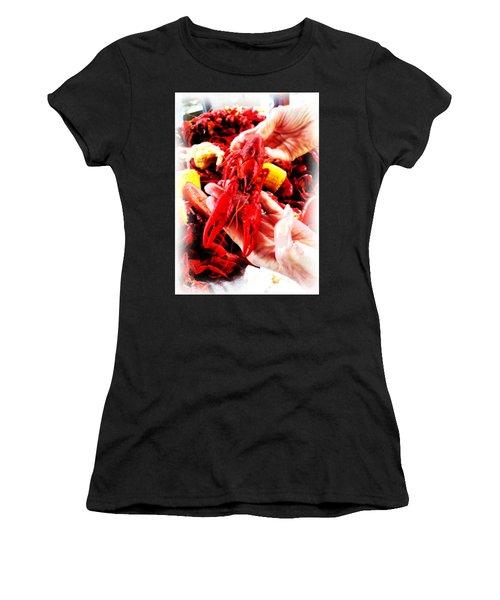 102715 Louisiana Lobster Women's T-Shirt