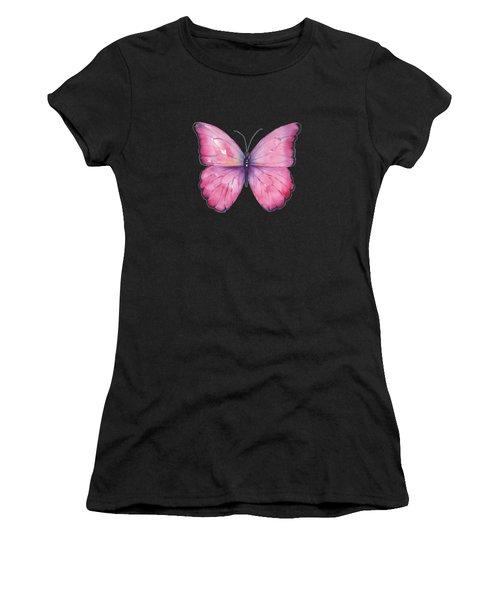 105 Pink Celestina Butterfly Women's T-Shirt