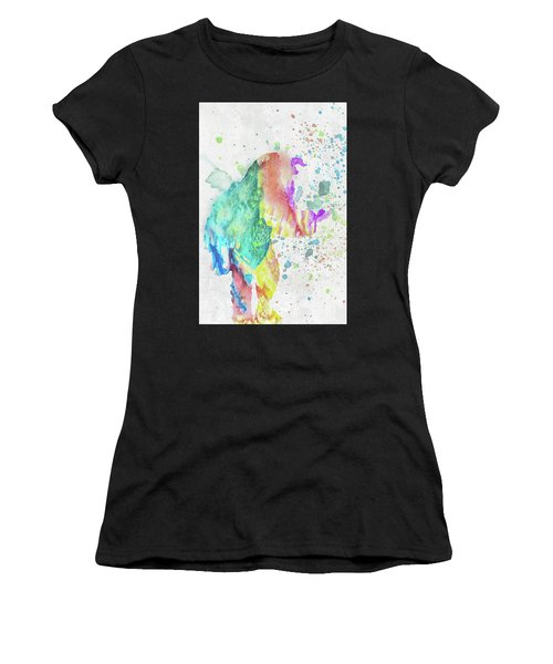 10787 Beast Women's T-Shirt (Athletic Fit)