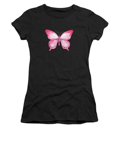 108 Pink Laglaizei Butterfly Women's T-Shirt