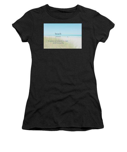 10967 Beach Tranquility Women's T-Shirt