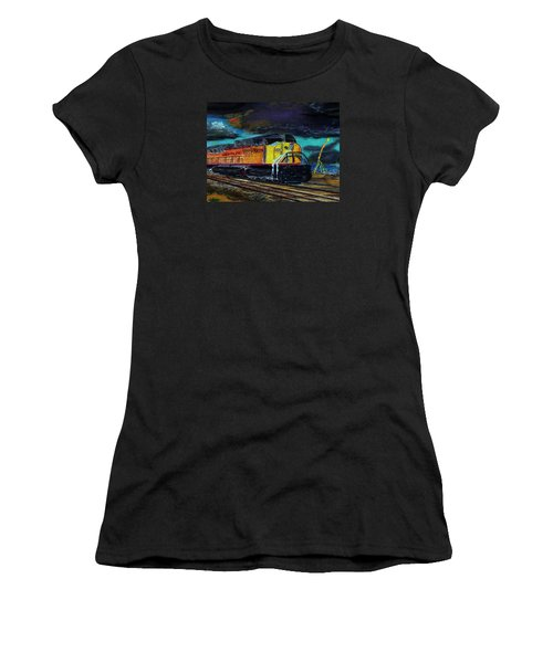 122415 East Bound Women's T-Shirt (Athletic Fit)