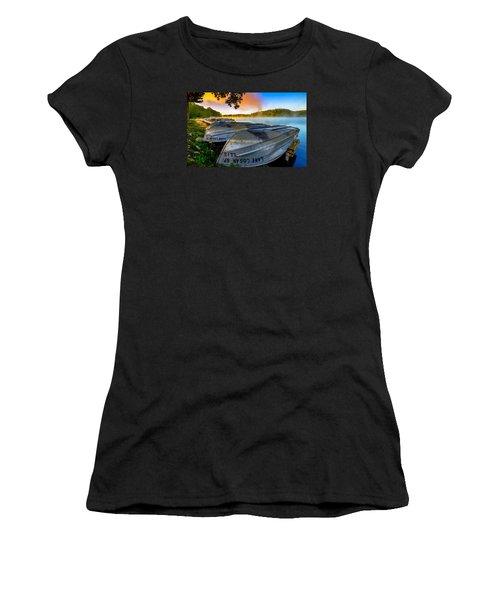 Lake Logan 2 Women's T-Shirt (Junior Cut) by Brian Stevens
