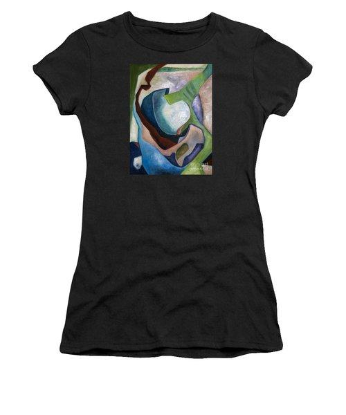 1319 Partial Recall Women's T-Shirt (Junior Cut) by AnneKarin Glass