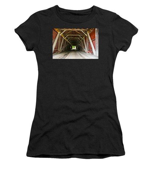 143 Feet Of Covered Bridge Women's T-Shirt